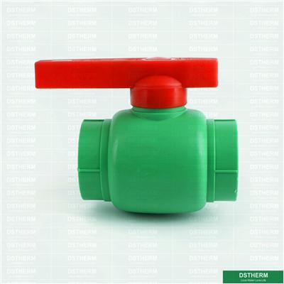 Ppr Plastic Ball Valve With PP Ball